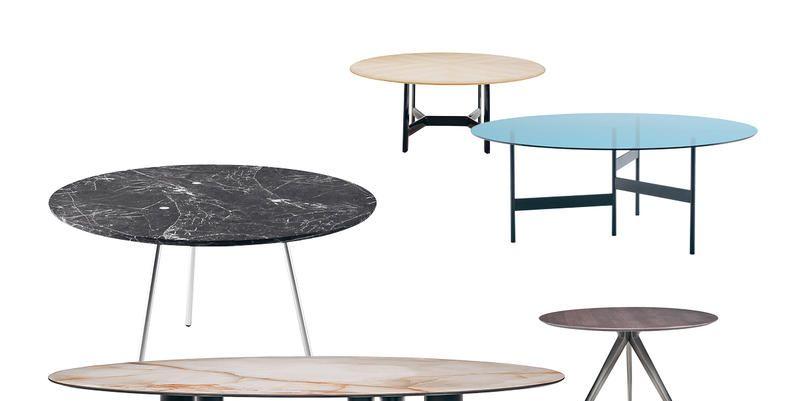 Tavoli rotondi da pranzo 7 idee arredo 2018 for Tavoli rotondi moderni allungabili
