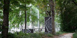 Giardino della Fondation Cartier e Symbiosia