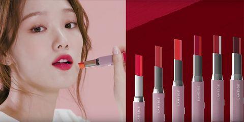 Lip, Face, Red, Skin, Nose, Eyebrow, Beauty, Lipstick, Lip gloss, Cosmetics,