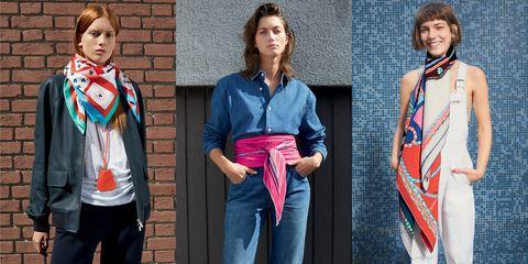 愛馬仕,Hermes, 絲巾,法國女人