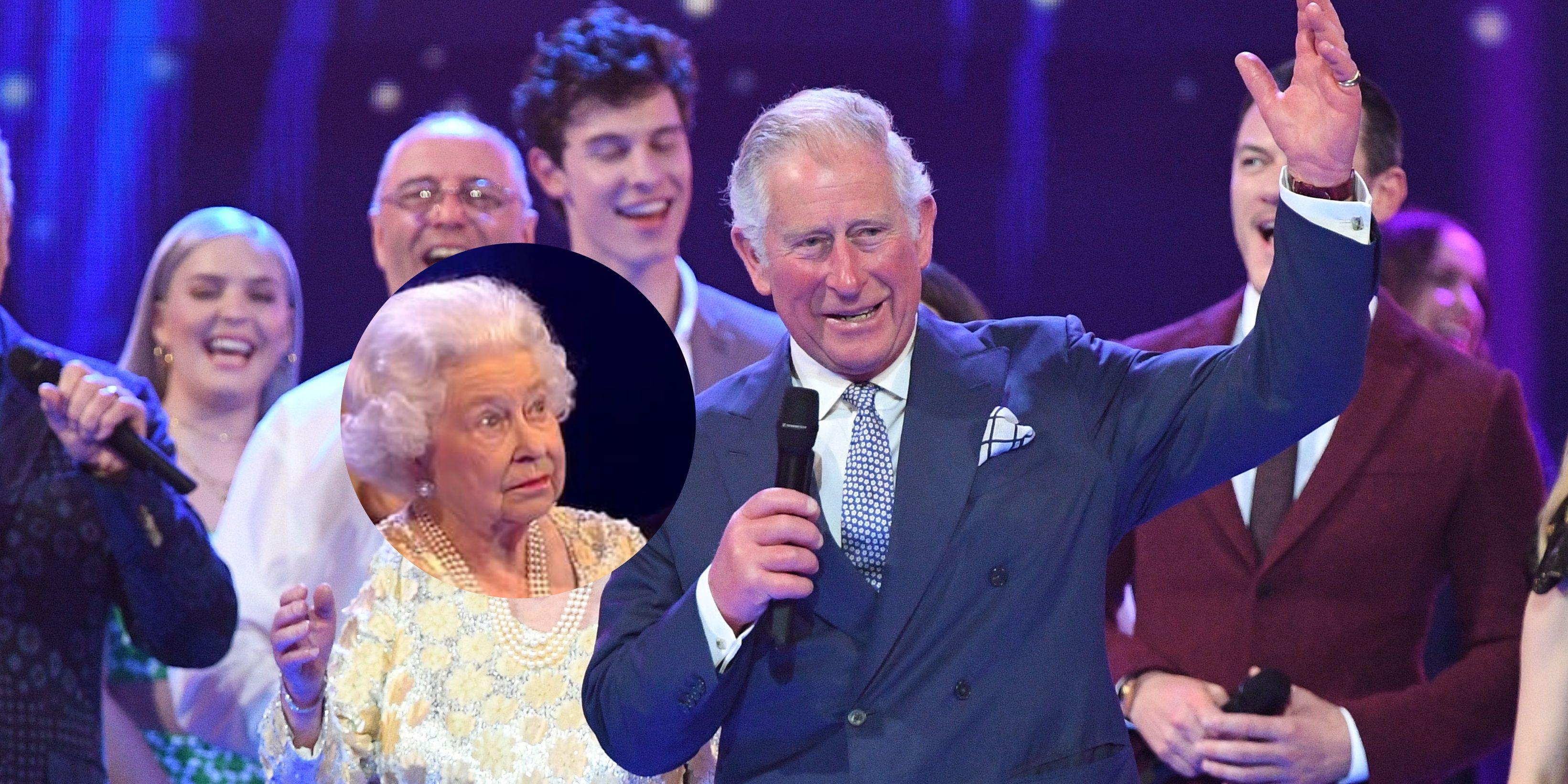 伊莉莎白女王,查爾斯王子,哈利王子,威廉王子,梅根馬克爾