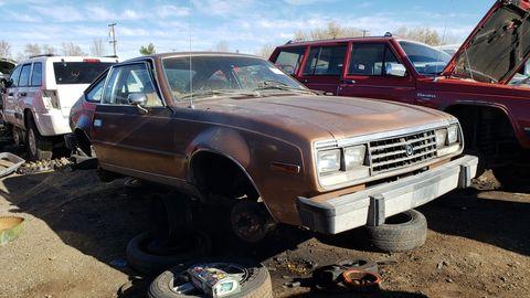 1979 american motors corporation spirit in denver junkyard