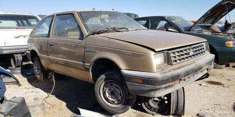 1986 chevrolet spectrum sport in colorado junkyard