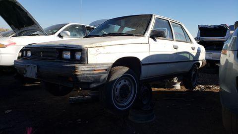1986 renault alliance in colorado junkyard