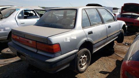 1991 honda civic dx sedan in denver junkyard