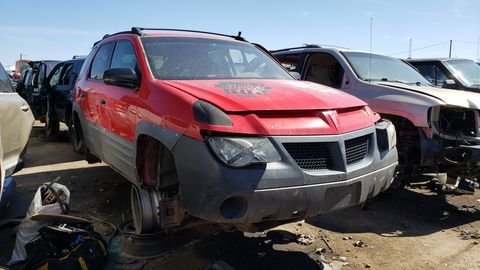 2001 pontiac aztek in colorado junkyard