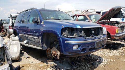 2005 isuzu ascender in denver junkyard