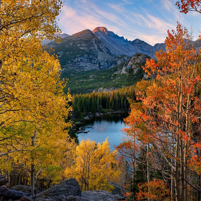 national park during fall