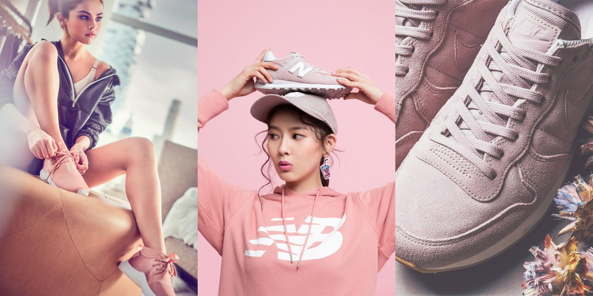 運動鞋,球鞋,玫瑰粉球鞋,NIKE,adidas Originals ,Puma,New Balance