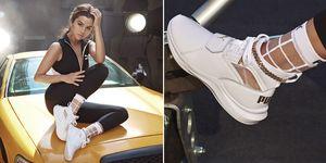 Selena Gomez,PUMA Phenom Lux,白球鞋,賽琳娜戈梅茲