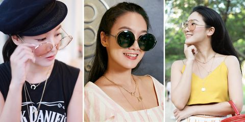 Eyewear, Sunglasses, Glasses, Hair, Beauty, Cool, Hairstyle, Vision care, Lip, Ear,