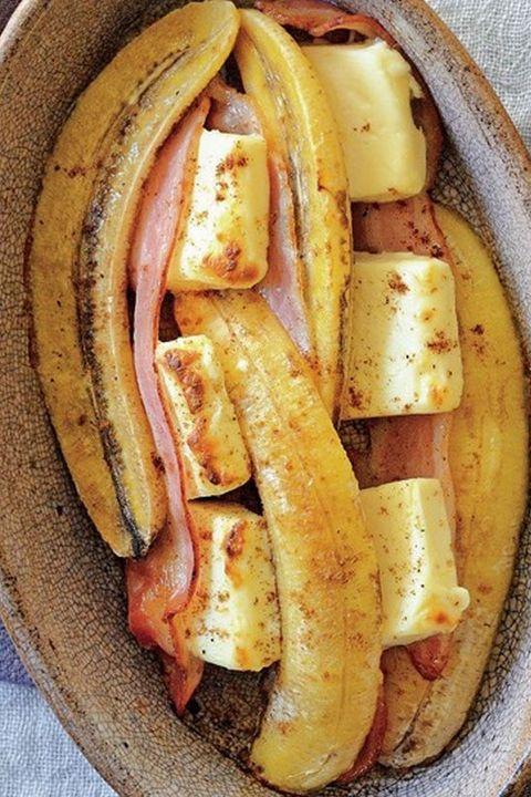 Food, Cuisine, Dish, Ingredient, Produce, Banana, Bratwurst, Falukorv, Sausage, Side dish,
