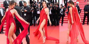 坎城紅毯大家都被這雙腿辣翻 維密超模Alessandra Ambrosio 紅毯秘辛