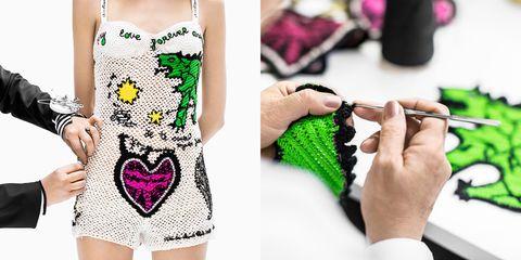 DIOR, 2018 春夏時裝系列, 針織工藝