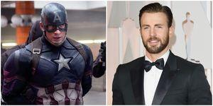 美國隊長,克里斯伊凡,復仇者聯盟,Marvel