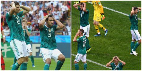 德國隊,輸,德國隊淘汰,2018世界盃, 德國對南韓,南韓隊,墨西哥隊,瑞典隊,2018世足