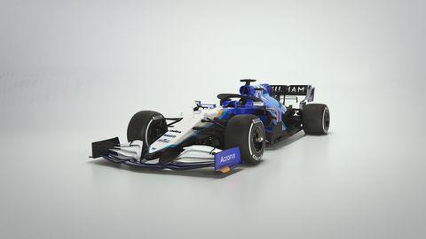 williams racing fw43b para 2021