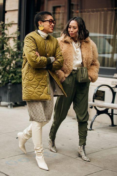 Photograph, Street fashion, Fur, Fashion, Snapshot, Fur clothing, Footwear, Eyewear, Outerwear, Sunglasses,