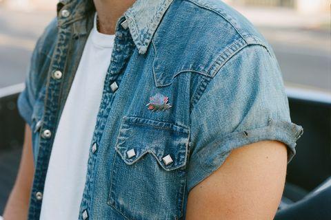 Denim, Jeans, Clothing, Blue, Street fashion, Outerwear, Textile, Fashion, Jacket, Turquoise,