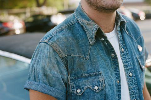 Denim, Jeans, Street fashion, Clothing, Textile, Pocket, Fashion, Cool, Joint, Shirt,