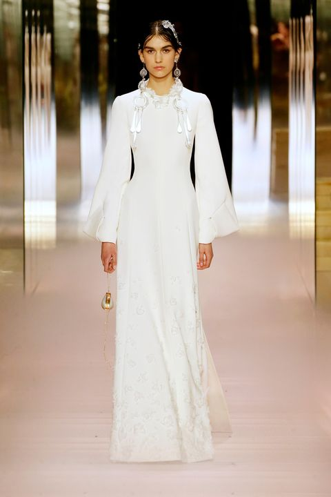 fendi bridal couture spring 2021