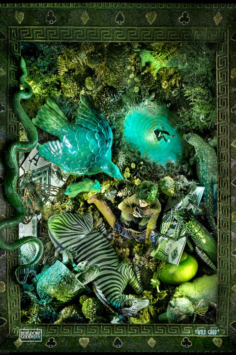 Green, Organism, Fictional character, Art, Illustration,