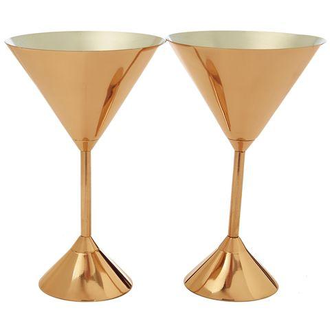 Tom Dixon martini glasses