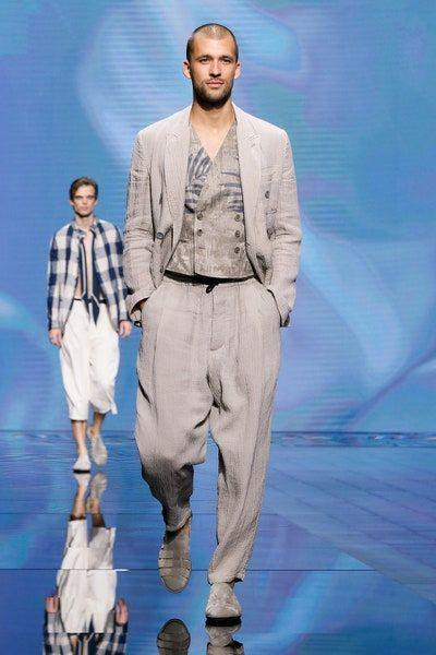 Semana De La Moda De Milan Primavera Verano 2021 Para Hombre