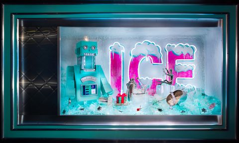 Tiffany & Co Christmas windows