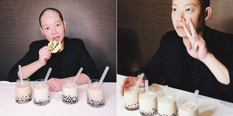 吳季剛,Jason Wu,時尚設計師,珍珠奶茶,珍奶評比, 台灣,美食,設計師,珍煮丹,五十嵐