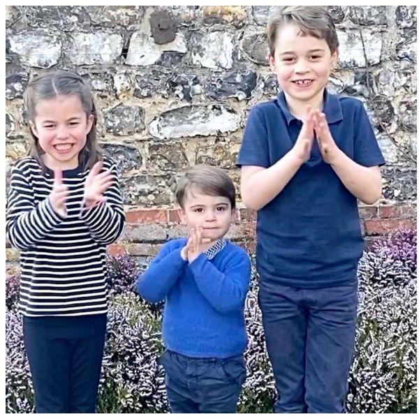 「謝謝你們那麼努力」英國王室喬治王子三兄妹、貝克漢一家向前線醫護人員拍手致敬