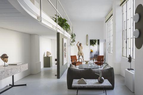 milan home of designer tommaso spinzi