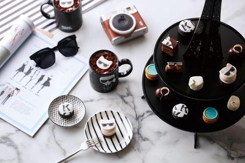 q版老佛爺+巴黎鐵塔化身精緻甜點!台北寒舍艾美「北緯二十五」打造法式精品下午茶