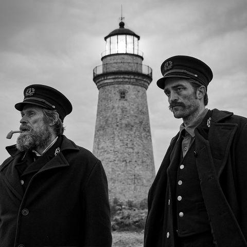 White, Black, Photograph, Black-and-white, Lighthouse, Monochrome photography, Monochrome, Tower, Photography, Human,