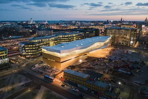 Oodi, la biblioteca pubblica di Helsinki firmata da ALA Architects