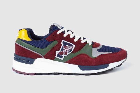 Shoe, Footwear, Sneakers, White, Walking shoe, Product, Maroon, Outdoor shoe, Carmine, Athletic shoe,