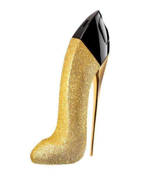 Footwear, High heels, Court shoe, Shoe, Basic pump, Glitter, Dress shoe, Beige,