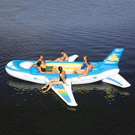 Ditch Unicorn and Swan Floats for This 18-Foot Inflatable Airplane Float