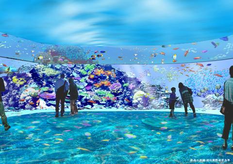 北台灣最大絕美水族館下半年開幕!桃園「x park」5大亮點整理~高科技體驗、4000坪空間、夜宿水族館