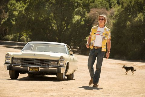 Brad Pitt in Quentin Tarantino's 'Once Upon A Time in Hollywood' (2019)