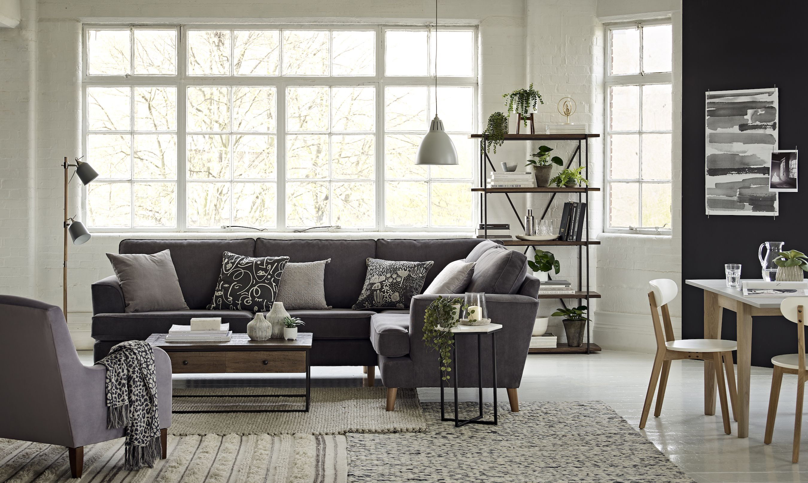 10 Grey Living Room Ideas - Grey Living Room