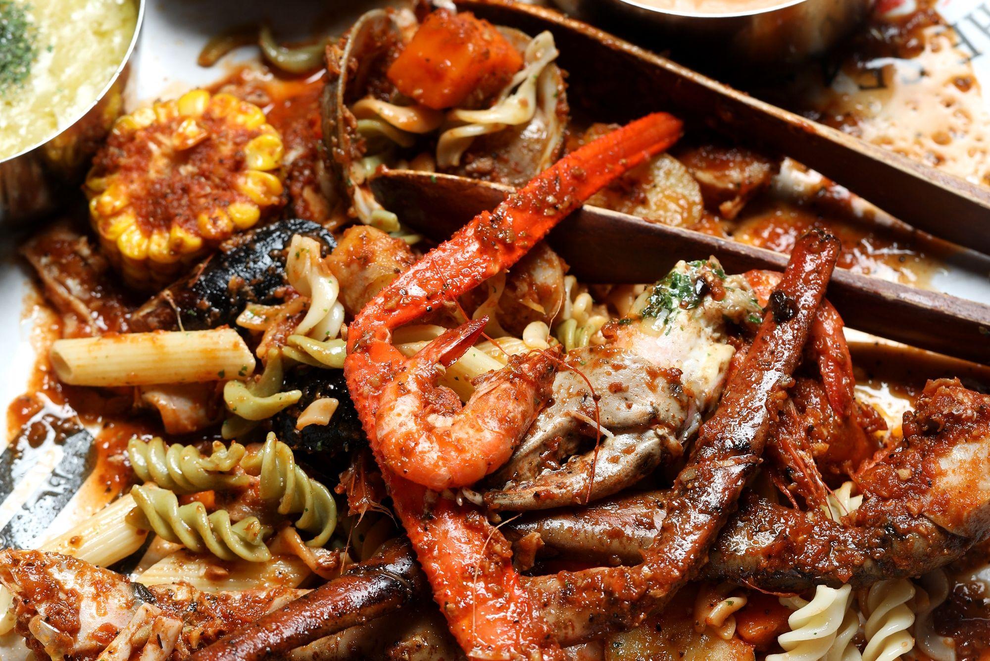 微風南山,手抓海鮮,新加坡,Dancing Crab,蟹舞,海鮮