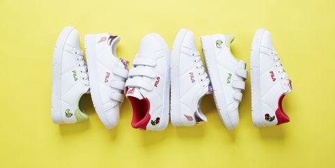 White, Footwear, Shoe, Font, Sneakers, Athletic shoe, Illustration,