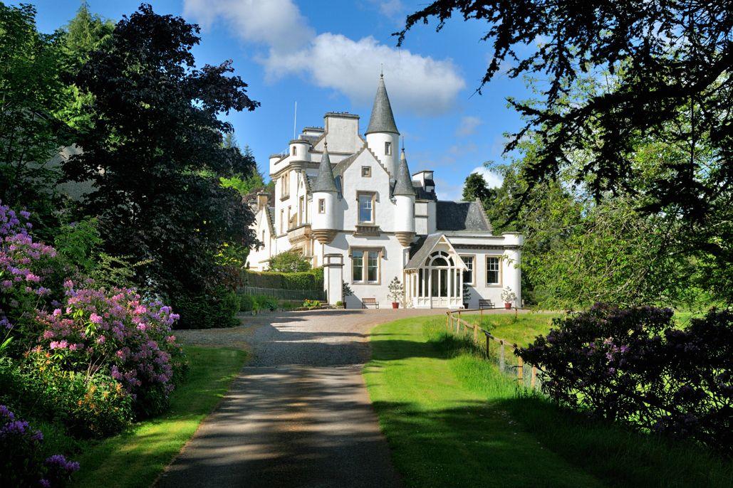 An enchanting castle in the Scottish Borderlands