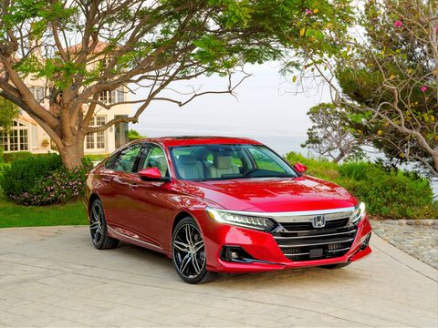 the updated, 10th generation, 2021 honda accord