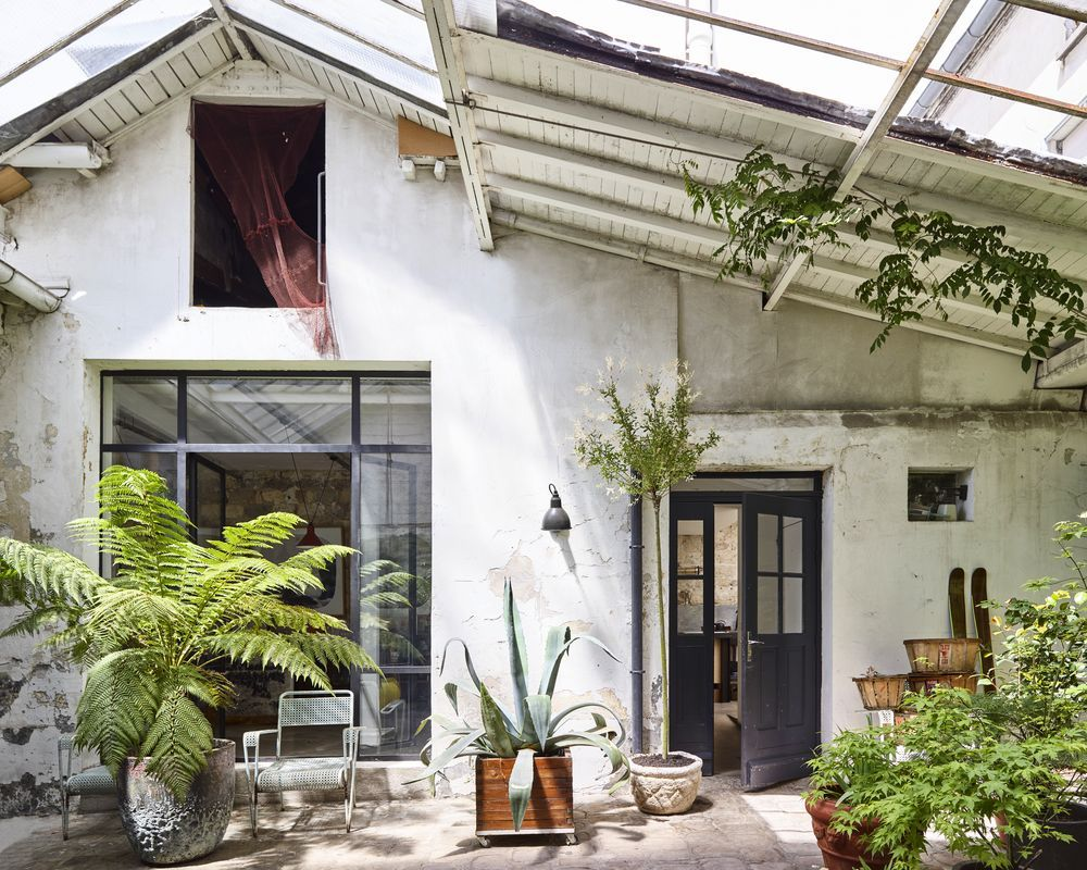 Rustic charm and greenery abound at this hidden sanctuary in the heart of Paris