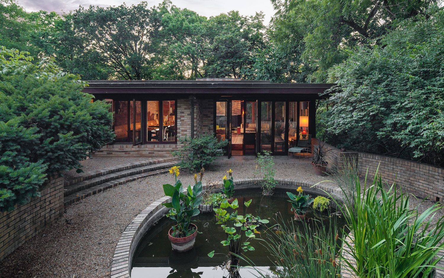 Now's Your Chance to Own A Kansas City Home That Frank Lloyd Wright Designed Not Once, but Twice