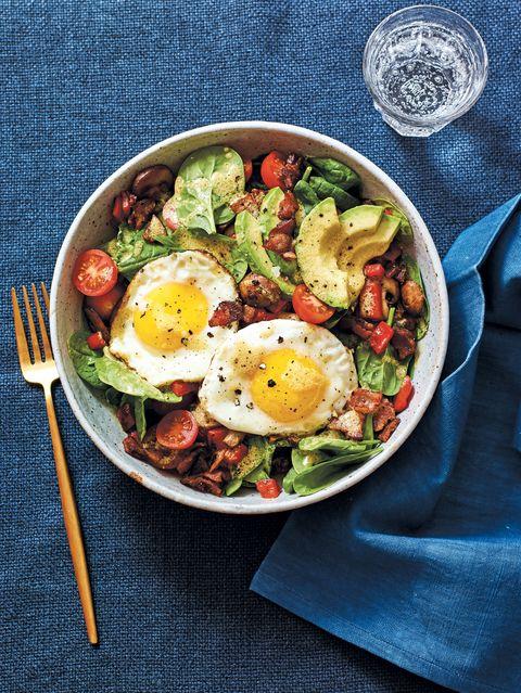 big ass breakfast salad ket0-friendly