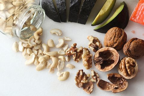 Food, Nut, Walnut, Nuts & seeds, Ingredient, Cashew, Cuisine, Trail mix, Produce, Plant,