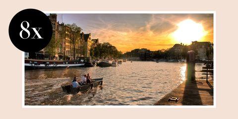 Sky, Waterway, Water, Sunset, Cloud, Morning, Snapshot, River, Evening, Tourism,